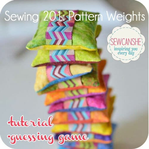 Sew Can She - Pattern Weights