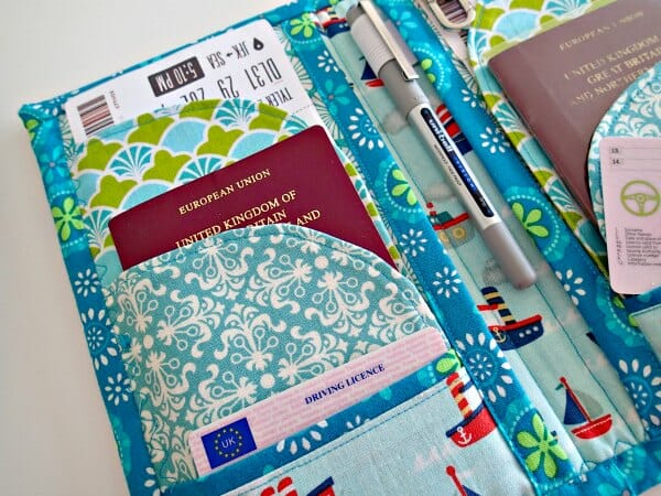 Travel and passport wallet pattern so sew easy