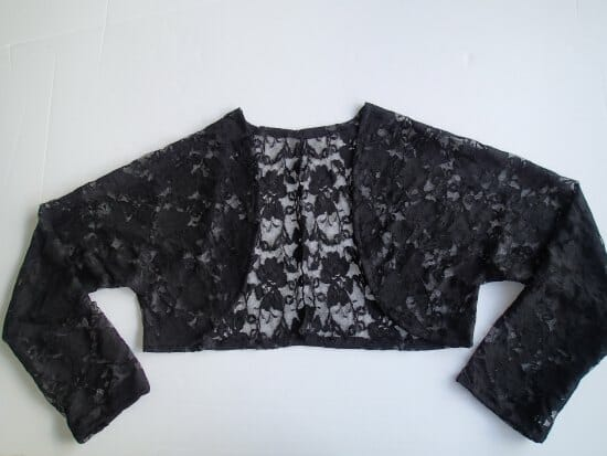 Sew a pretty lace jacket - So Sew Easy