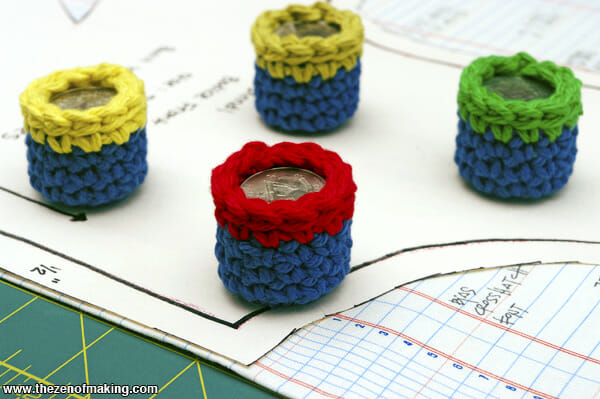 Zen of Making - Crocheted Pattern Weights