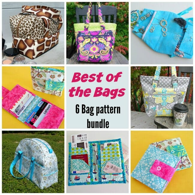 Best of the Bags Pattern Bundle - So Sew Easy