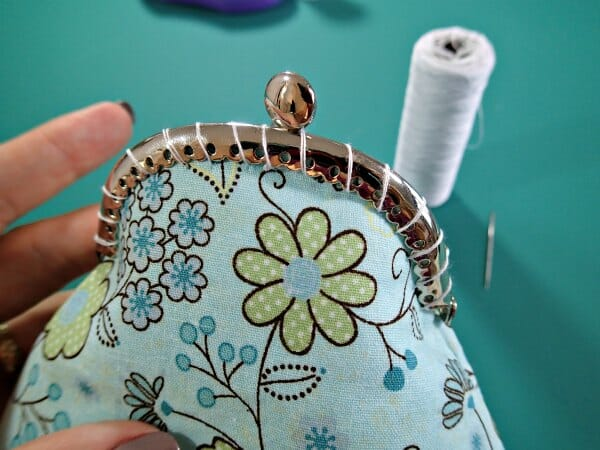 how to sew a cute coin purse using a sew in purse frame