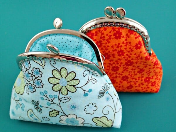 how to sew a coin purse with a sew in purse frame looks easy
