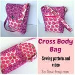 cross body bag pattern