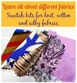 3 fabric swatch kits you can get to help you pick the right fabrics online. can't beat having samples of all these fabrics on hand.