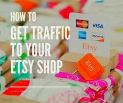 get traffic to your etsy shop