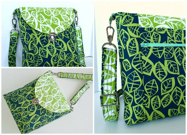Cross Body Bag patternPOTMSo Sew Easy
