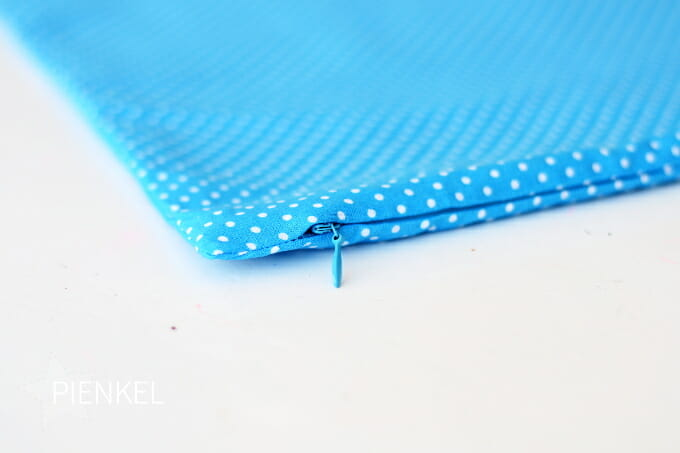 Pienkel Invisible Zipper Pillowcase