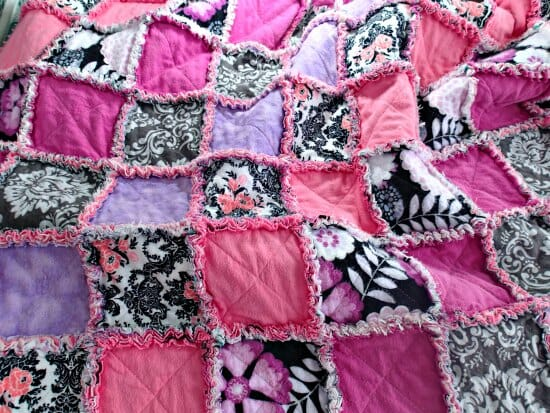 How to make a rag quilt - So Sew Easy : rag quilts for beginners - Adamdwight.com