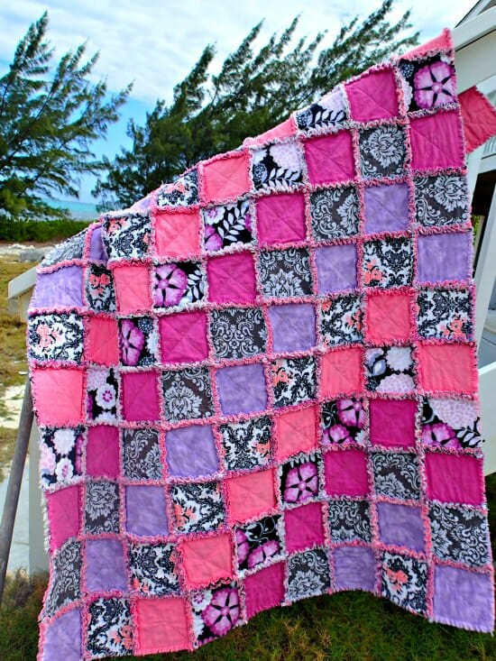 How to make a rag quilt - So Sew Easy : rag quilt how to - Adamdwight.com