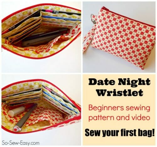 Surprise Pattern Giveaway: $5.75 Date Night Wristlet Pattern FREE Today Only!