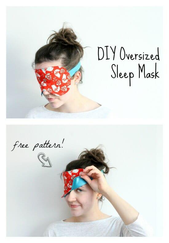 sew a sleep mask