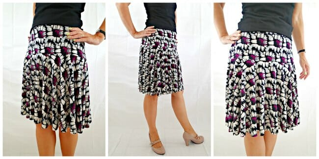 Free Skirt Pattern The Flouncy Bouncy Skirt So Sew Easy