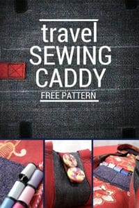 Serger Pepper Guest Post - Sewing Caddy Free Pattern