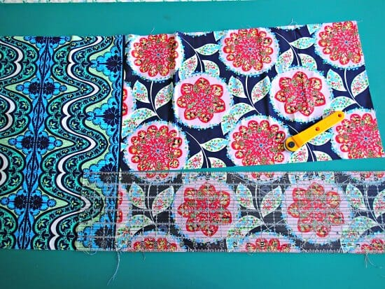 Making a gathered quilt top from Fat Quarters - So Sew Easy : gathered quilt - Adamdwight.com