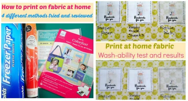 picture regarding Printable Fabric Paper named Do-it-yourself For Your self Printable Material Labels - Thus Sew Uncomplicated
