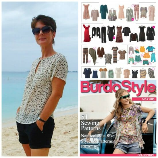 New Burda Style Flagship Kits - 51 sewing patterns as a single download. Great value for money.