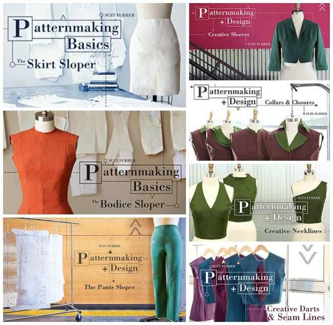 Amazing exclusive offer on the Craftsy pattern drafting classes from So Sew Easy.