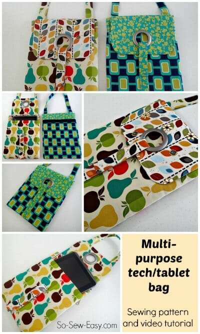 Love This Tablet Bag Pattern