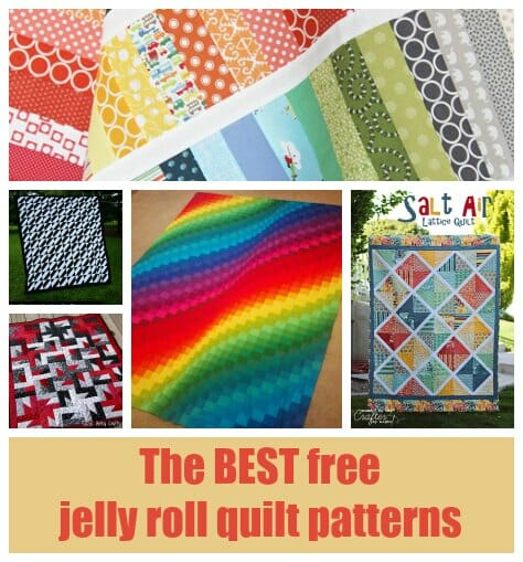30+ Free Jelly Roll Quilt Patterns you