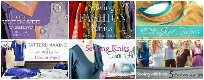 Knits collage