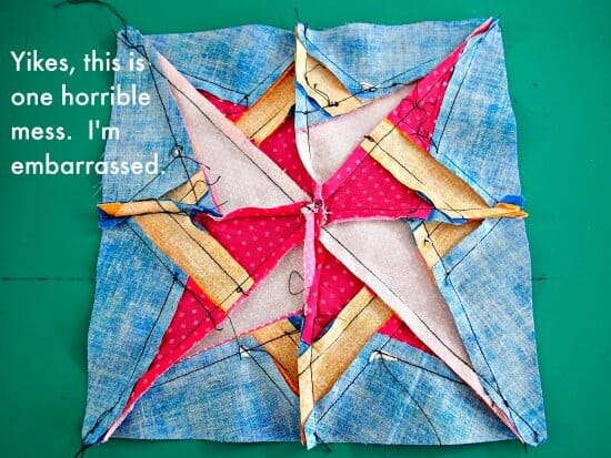 Getting started in paper piecing quilts - So Sew Easy : paper pieced quilts - Adamdwight.com