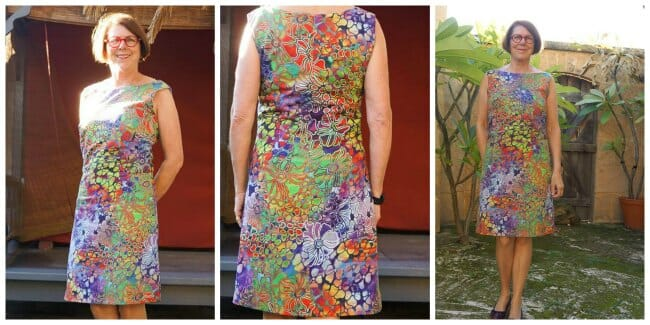 Lilly Shift Dress pattern - POTM - So Sew Easy