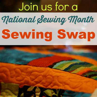 Fun Sewing Swap event happening at So Sew Easy for September. Share your love of sewing with a new friend for National Sewing Month.