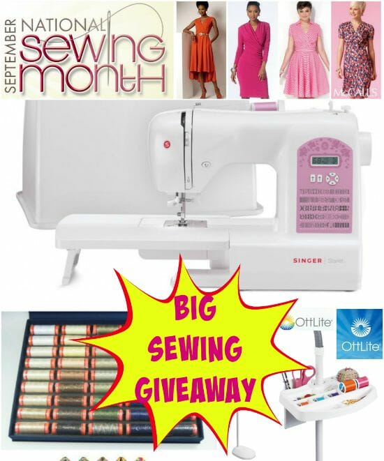 National Sewing Month Celebrate With A Great Giveaway So Sew Easy Delectable Sewing Machine Giveaway 2015