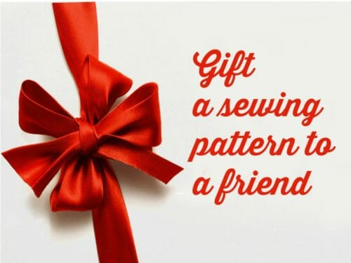 Cool idea for National Sewing Month, or for birthdays etc. Gift a sewing pattern to a friend. Buy online and it will be sent direct to your friend as a nice surprise.