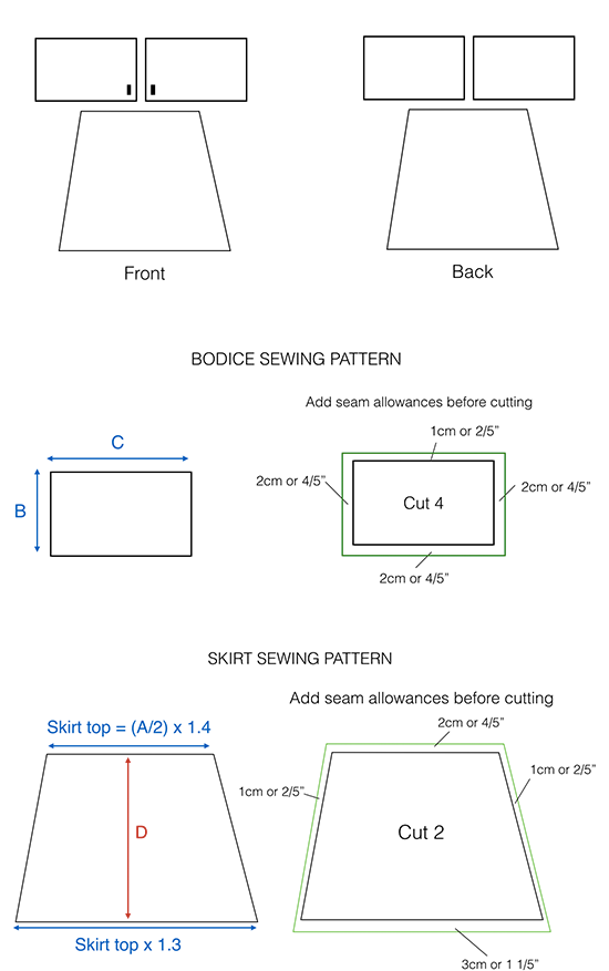 How-to-make-boho-kimono-dress---sewing-pattern