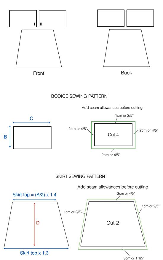How-to-make-boho-kimono-dress---sewing-pattern