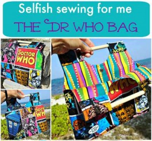 Pattern from the Just for You Selfish sewing book. This is the Painters Clutch Bag.