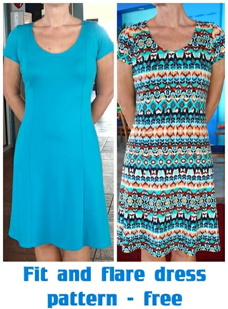 fit and flare dress pattern