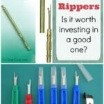 Can you actually save money, time or get better results if you invest in a better seam ripper? Interesting take on sewing tool quality.