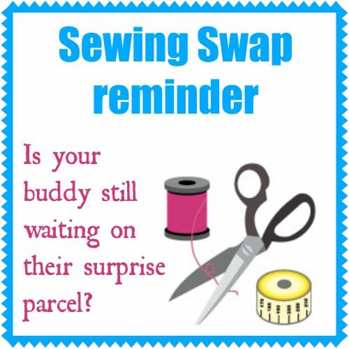 Sewing swap reminder