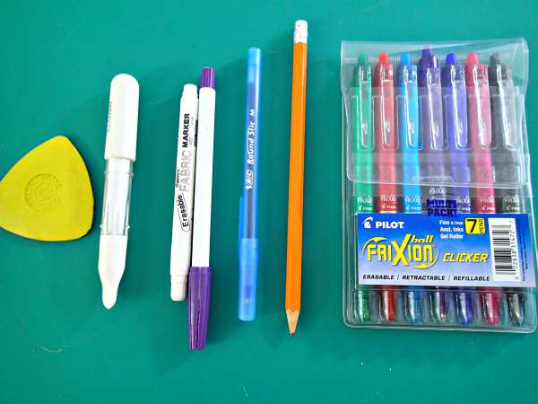 My Favorite Fabric Marking Tools Frixion Pens So Sew Easy