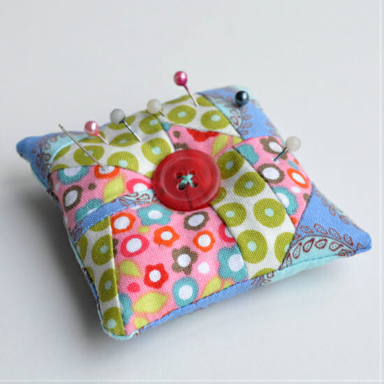 Emery pin cushion - vickymyerscreations