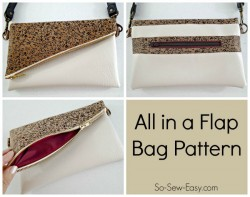 fold over bag pattern