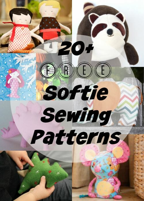 The best free Softie and Plushie patterns - So Sew Easy