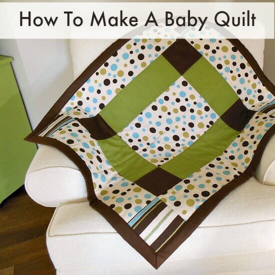How To Make A Baby Quilt So Sew Easy Inspiration Easy Baby Quilt Patterns