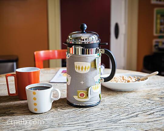 coffee press cover