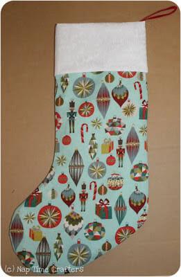 Christmas stockings pattern
