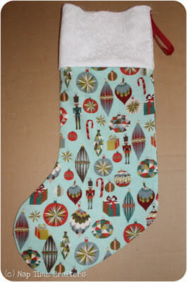 Christmas stockings pattern