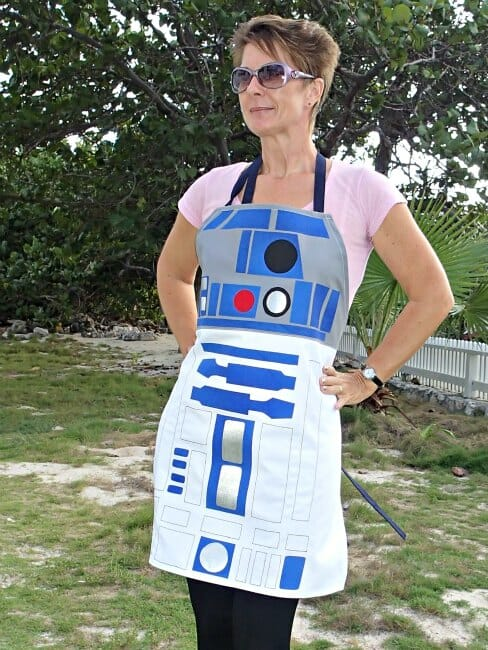 star wars r2d2 apron