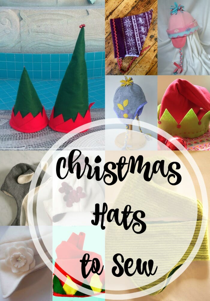 Christmas Hats to Sew for Kids and Adults - So Sew Easy