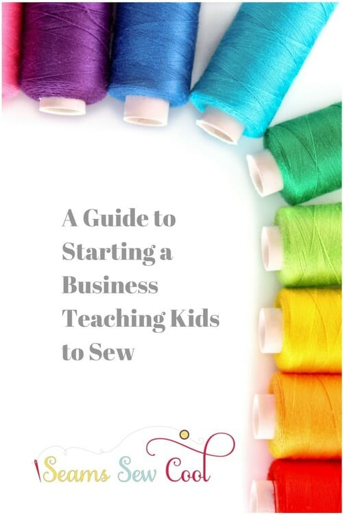 Giveaway, win the How to Start A Business Teaching Kids to Sew e-course.