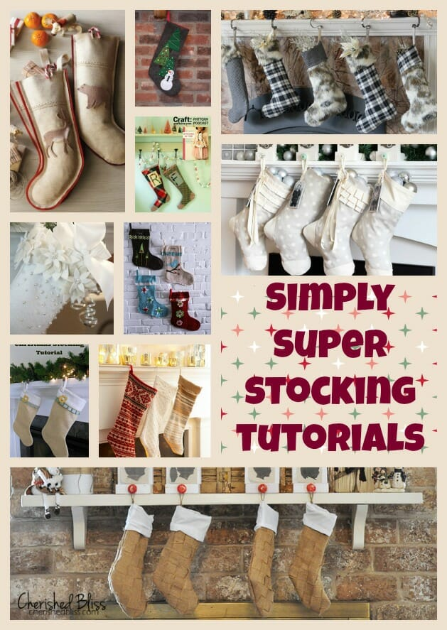 Christmas stockings patterns, simple and super! - So Sew Easy