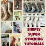 The best free patterns for all sorts, shapes and sizes of Christmas Stockings