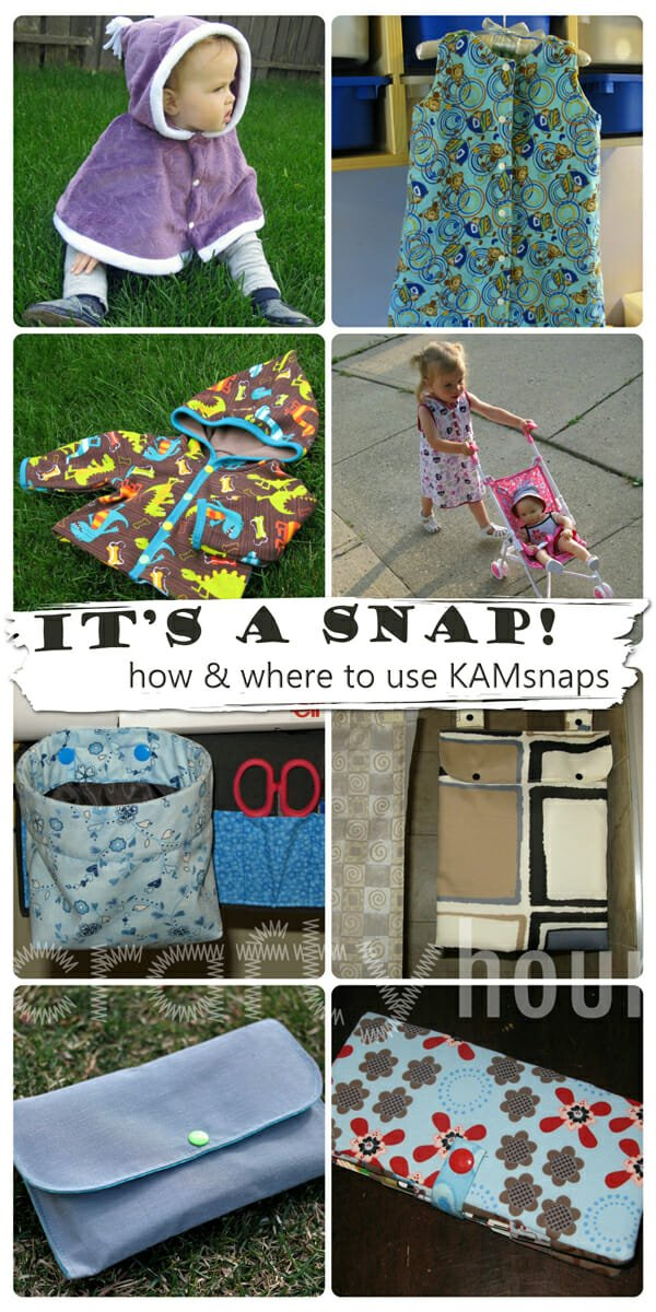 Crafty Hour : Sag Cinchers Tutorial & It's a Snap - how to